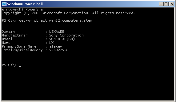 PowerShell and WMI integration.