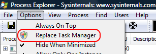 Process Explorer: Replace Task Manager.