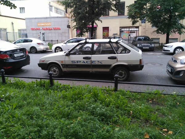 SpaceX Lada